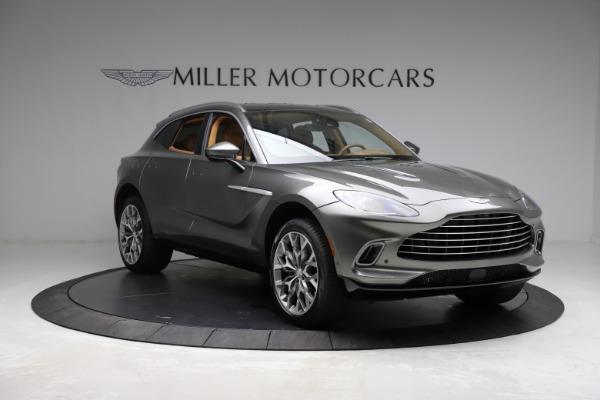 New 2021 Aston Martin DBX for sale $211,486 at Alfa Romeo of Greenwich in Greenwich CT 06830 10