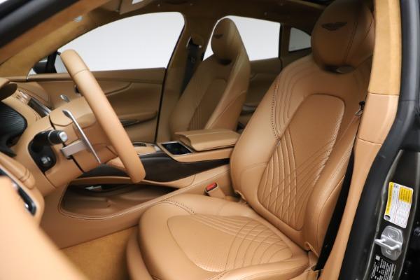 New 2021 Aston Martin DBX for sale $211,486 at Alfa Romeo of Greenwich in Greenwich CT 06830 15