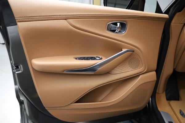 New 2021 Aston Martin DBX for sale $211,486 at Alfa Romeo of Greenwich in Greenwich CT 06830 16