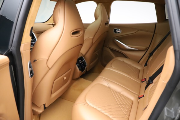 New 2021 Aston Martin DBX for sale $211,486 at Alfa Romeo of Greenwich in Greenwich CT 06830 19