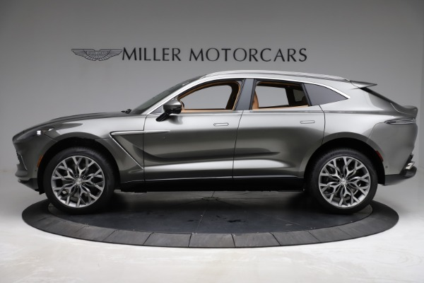 New 2021 Aston Martin DBX for sale $211,486 at Alfa Romeo of Greenwich in Greenwich CT 06830 2