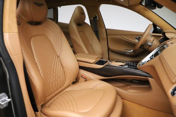 New 2021 Aston Martin DBX for sale $211,486 at Alfa Romeo of Greenwich in Greenwich CT 06830 24