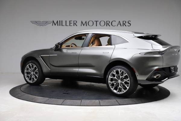 New 2021 Aston Martin DBX for sale $211,486 at Alfa Romeo of Greenwich in Greenwich CT 06830 3