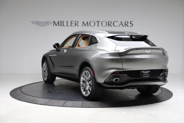 New 2021 Aston Martin DBX for sale $211,486 at Alfa Romeo of Greenwich in Greenwich CT 06830 4