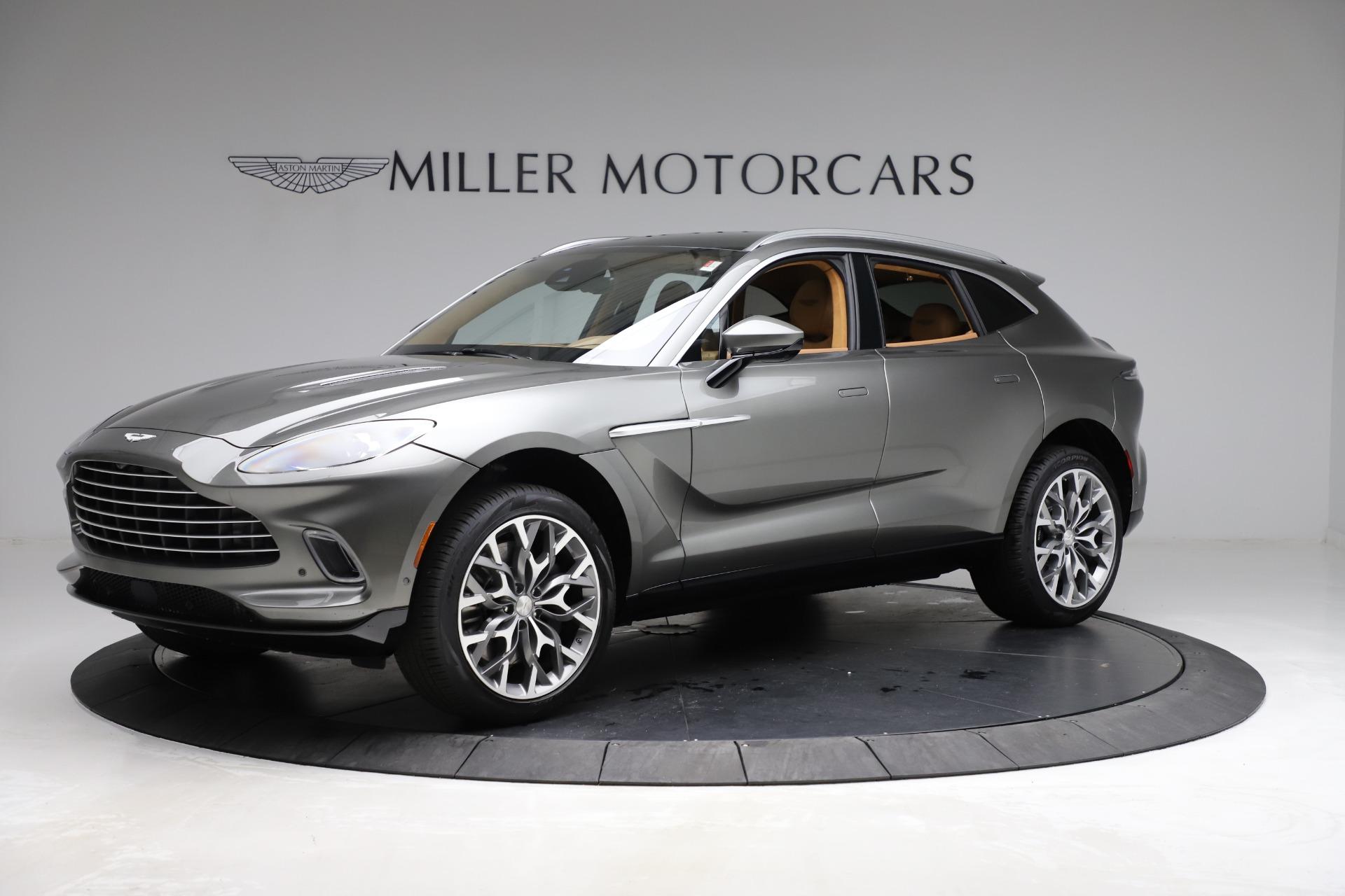 New 2021 Aston Martin DBX for sale $211,486 at Alfa Romeo of Greenwich in Greenwich CT 06830 1