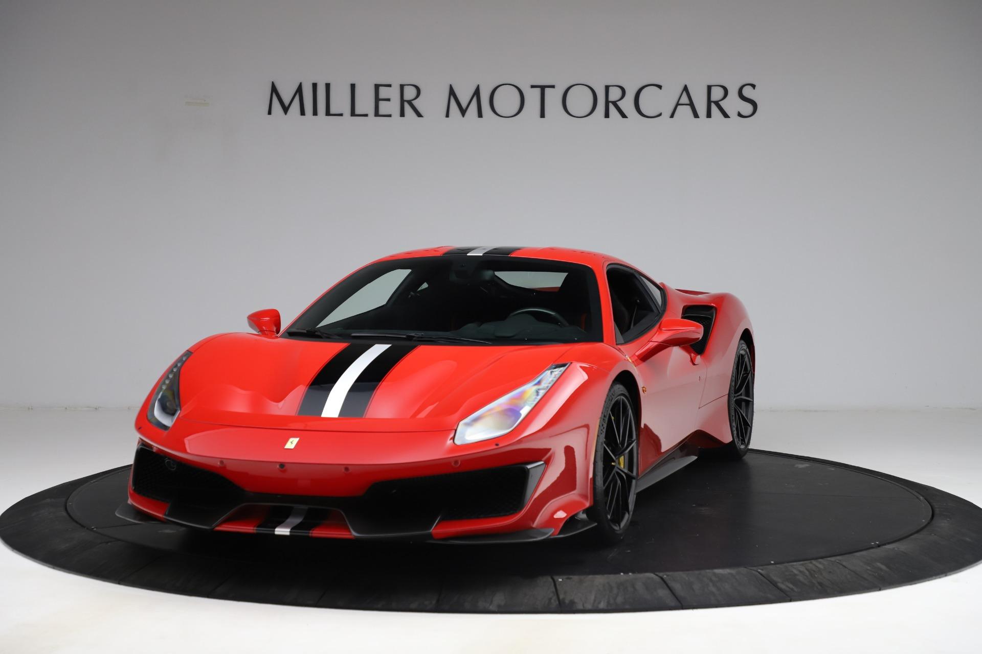 Used 2020 Ferrari 488 Pista for sale $469,900 at Alfa Romeo of Greenwich in Greenwich CT 06830 1