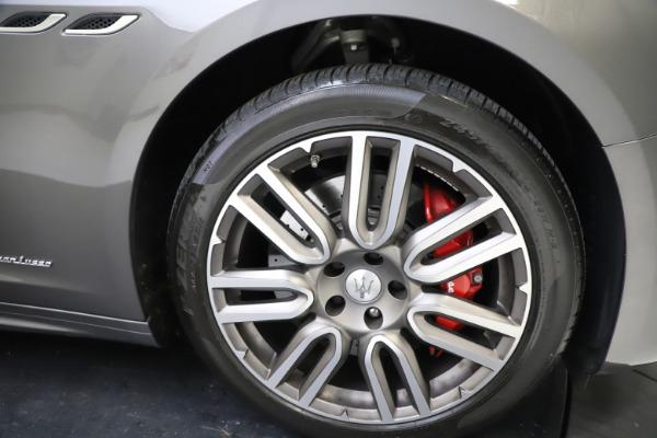 Used 2018 Maserati Ghibli SQ4 GranLusso for sale $55,900 at Alfa Romeo of Greenwich in Greenwich CT 06830 22