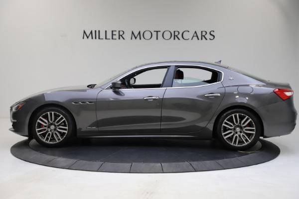 Used 2018 Maserati Ghibli SQ4 GranLusso for sale $55,900 at Alfa Romeo of Greenwich in Greenwich CT 06830 3