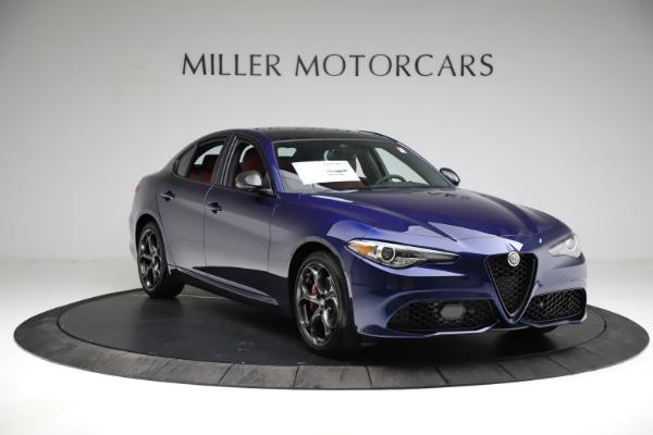 New 2021 Alfa Romeo Giulia Ti Sport for sale $54,050 at Alfa Romeo of Greenwich in Greenwich CT 06830 13