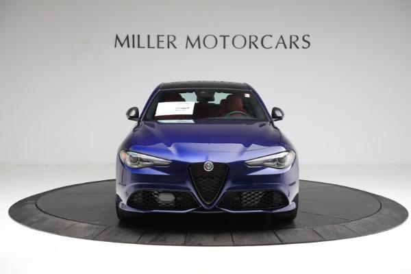 New 2021 Alfa Romeo Giulia Ti Sport for sale $54,050 at Alfa Romeo of Greenwich in Greenwich CT 06830 14