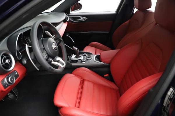 New 2021 Alfa Romeo Giulia Ti Sport for sale $54,050 at Alfa Romeo of Greenwich in Greenwich CT 06830 16