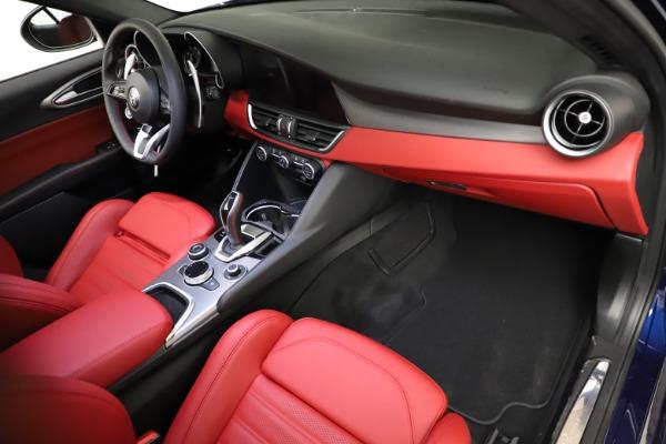 New 2021 Alfa Romeo Giulia Ti Sport for sale $54,050 at Alfa Romeo of Greenwich in Greenwich CT 06830 19