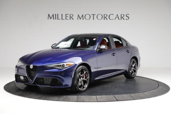 New 2021 Alfa Romeo Giulia Ti Sport for sale $54,050 at Alfa Romeo of Greenwich in Greenwich CT 06830 2