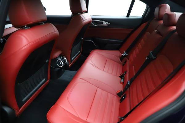 New 2021 Alfa Romeo Giulia Ti Sport for sale $54,050 at Alfa Romeo of Greenwich in Greenwich CT 06830 23