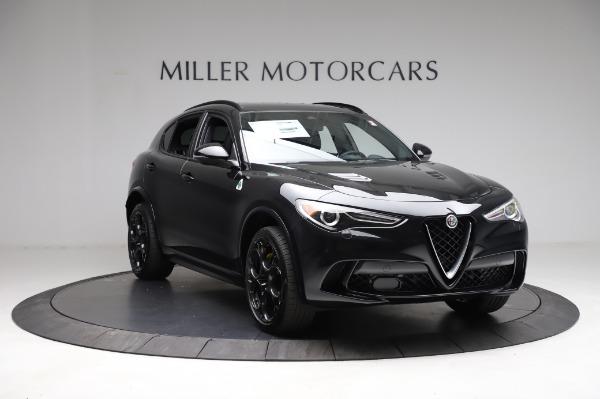 New 2021 Alfa Romeo Stelvio Quadrifoglio for sale $90,450 at Alfa Romeo of Greenwich in Greenwich CT 06830 11