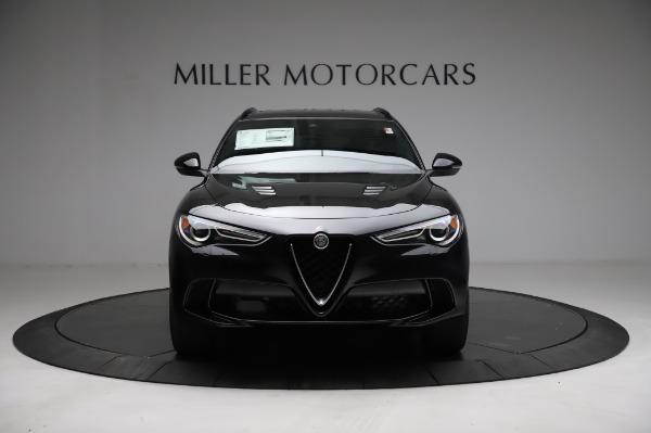 New 2021 Alfa Romeo Stelvio Quadrifoglio for sale $90,450 at Alfa Romeo of Greenwich in Greenwich CT 06830 12