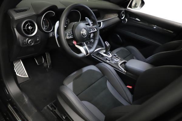 New 2021 Alfa Romeo Stelvio Quadrifoglio for sale $90,450 at Alfa Romeo of Greenwich in Greenwich CT 06830 13