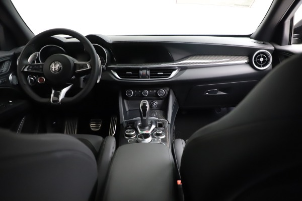 New 2021 Alfa Romeo Stelvio Quadrifoglio for sale $90,450 at Alfa Romeo of Greenwich in Greenwich CT 06830 16