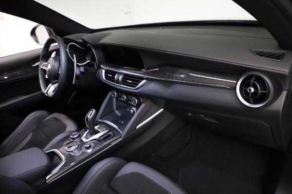 New 2021 Alfa Romeo Stelvio Quadrifoglio for sale $90,450 at Alfa Romeo of Greenwich in Greenwich CT 06830 21