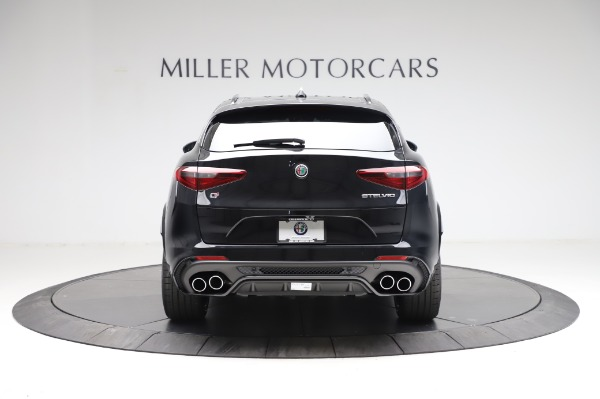 New 2021 Alfa Romeo Stelvio Quadrifoglio for sale $90,450 at Alfa Romeo of Greenwich in Greenwich CT 06830 6