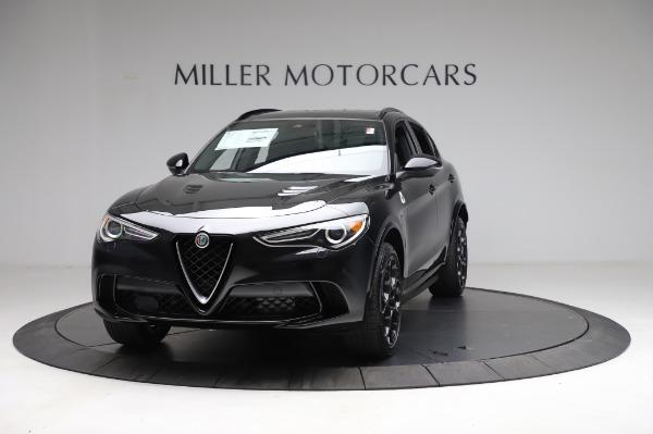 New 2021 Alfa Romeo Stelvio Quadrifoglio for sale $90,450 at Alfa Romeo of Greenwich in Greenwich CT 06830 1