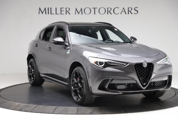 New 2021 Alfa Romeo Stelvio Quadrifoglio for sale $91,750 at Alfa Romeo of Greenwich in Greenwich CT 06830 11
