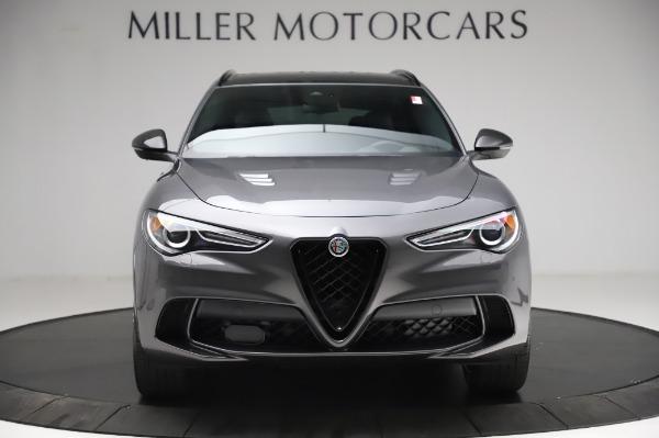 New 2021 Alfa Romeo Stelvio Quadrifoglio for sale $91,750 at Alfa Romeo of Greenwich in Greenwich CT 06830 12