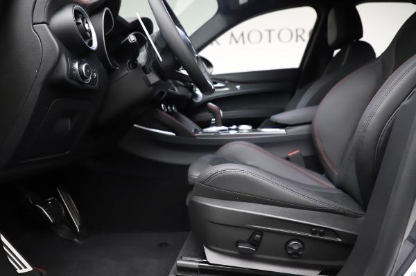 New 2021 Alfa Romeo Stelvio Quadrifoglio for sale $91,750 at Alfa Romeo of Greenwich in Greenwich CT 06830 14