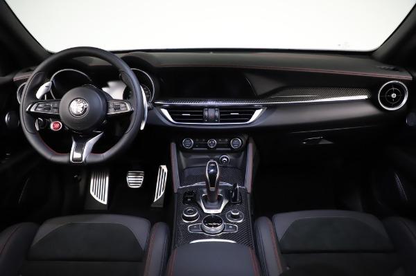 New 2021 Alfa Romeo Stelvio Quadrifoglio for sale $91,750 at Alfa Romeo of Greenwich in Greenwich CT 06830 16
