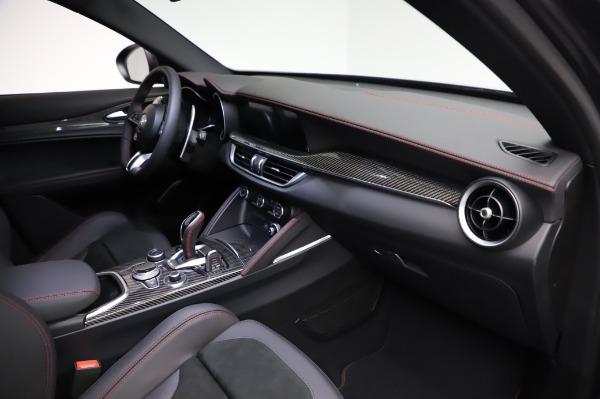 New 2021 Alfa Romeo Stelvio Quadrifoglio for sale $91,750 at Alfa Romeo of Greenwich in Greenwich CT 06830 22