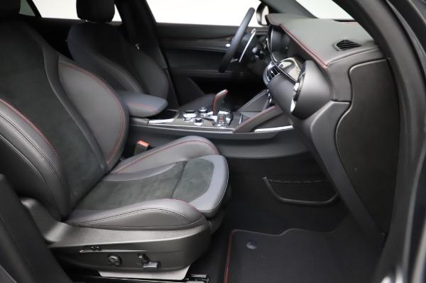 New 2021 Alfa Romeo Stelvio Quadrifoglio for sale $91,750 at Alfa Romeo of Greenwich in Greenwich CT 06830 24