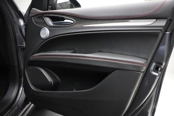 New 2021 Alfa Romeo Stelvio Quadrifoglio for sale $91,750 at Alfa Romeo of Greenwich in Greenwich CT 06830 25