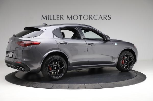 New 2021 Alfa Romeo Stelvio Quadrifoglio for sale $91,750 at Alfa Romeo of Greenwich in Greenwich CT 06830 8