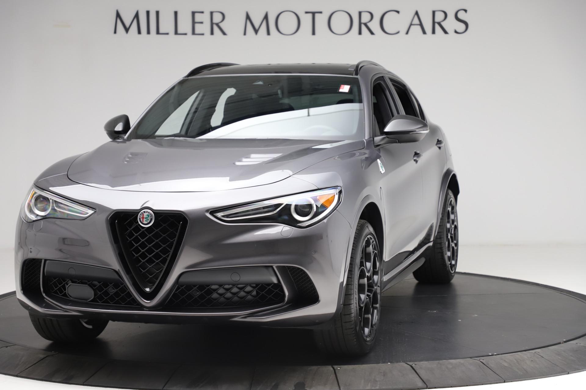 New 2021 Alfa Romeo Stelvio Quadrifoglio for sale $91,750 at Alfa Romeo of Greenwich in Greenwich CT 06830 1