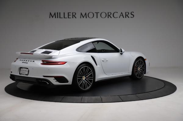 Used 2018 Porsche 911 Turbo for sale $159,990 at Alfa Romeo of Greenwich in Greenwich CT 06830 10