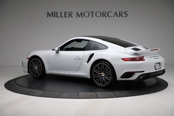 Used 2018 Porsche 911 Turbo for sale $159,990 at Alfa Romeo of Greenwich in Greenwich CT 06830 6