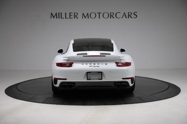 Used 2018 Porsche 911 Turbo for sale $159,990 at Alfa Romeo of Greenwich in Greenwich CT 06830 8