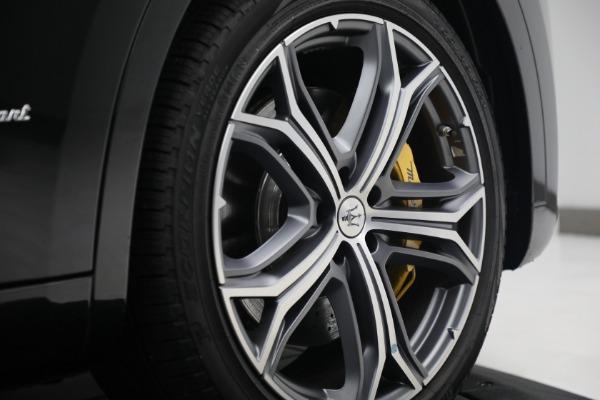 New 2021 Maserati Levante S Q4 GranSport for sale Call for price at Alfa Romeo of Greenwich in Greenwich CT 06830 13