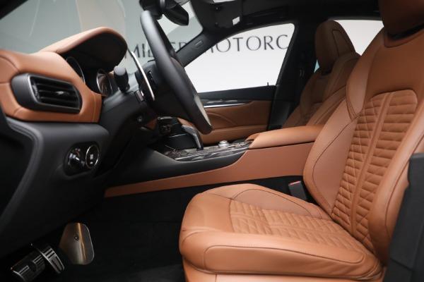 New 2021 Maserati Levante S Q4 GranSport for sale Call for price at Alfa Romeo of Greenwich in Greenwich CT 06830 16