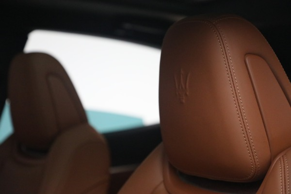New 2021 Maserati Levante S Q4 GranSport for sale Call for price at Alfa Romeo of Greenwich in Greenwich CT 06830 18