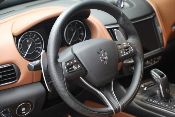 New 2021 Maserati Levante S Q4 GranSport for sale Call for price at Alfa Romeo of Greenwich in Greenwich CT 06830 19