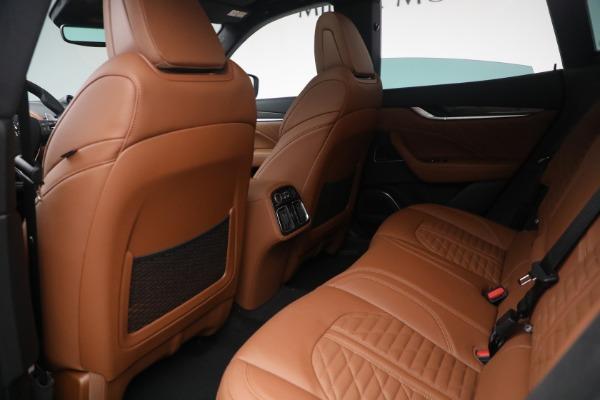 New 2021 Maserati Levante S Q4 GranSport for sale Call for price at Alfa Romeo of Greenwich in Greenwich CT 06830 25