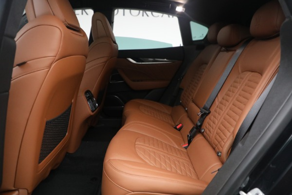 New 2021 Maserati Levante S Q4 GranSport for sale Call for price at Alfa Romeo of Greenwich in Greenwich CT 06830 26