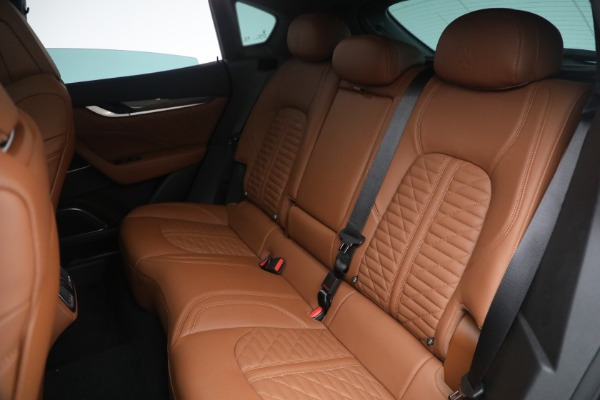 New 2021 Maserati Levante S Q4 GranSport for sale Call for price at Alfa Romeo of Greenwich in Greenwich CT 06830 27