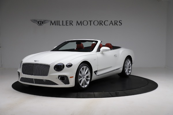 New 2021 Bentley Continental GT V8 for sale Sold at Alfa Romeo of Greenwich in Greenwich CT 06830 2
