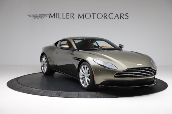 Used 2018 Aston Martin DB11 V8 for sale $151,900 at Alfa Romeo of Greenwich in Greenwich CT 06830 10