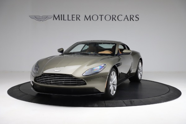 Used 2018 Aston Martin DB11 V8 for sale $151,900 at Alfa Romeo of Greenwich in Greenwich CT 06830 12
