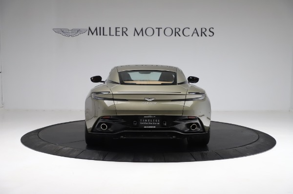 Used 2018 Aston Martin DB11 V8 for sale $151,900 at Alfa Romeo of Greenwich in Greenwich CT 06830 5