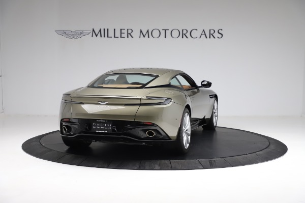 Used 2018 Aston Martin DB11 V8 for sale $151,900 at Alfa Romeo of Greenwich in Greenwich CT 06830 6