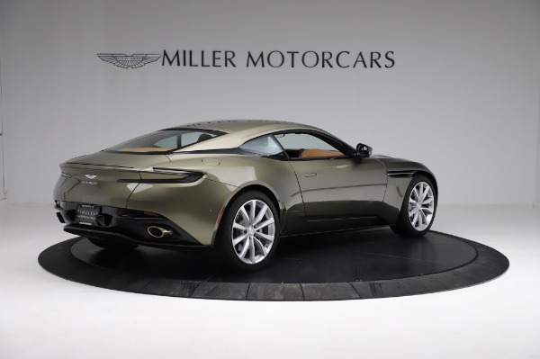 Used 2018 Aston Martin DB11 V8 for sale $151,900 at Alfa Romeo of Greenwich in Greenwich CT 06830 7